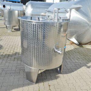 1000 liter i rostfritt 304