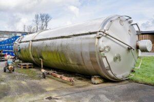50 000 liter i rostfritt 304