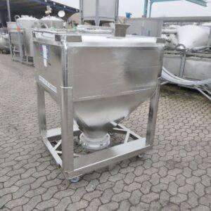 1000 liter i syrafast 316