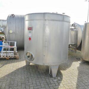 5000 liter i rostfritt 304