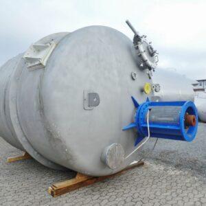 Reaktor 25 030 liter i rostfritt 304
