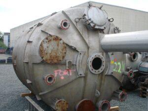 Reaktor 22000 liter i syrafast 316