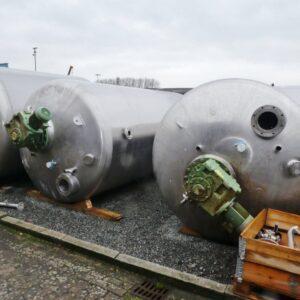 Reaktor 11535 liter i rostfritt 304
