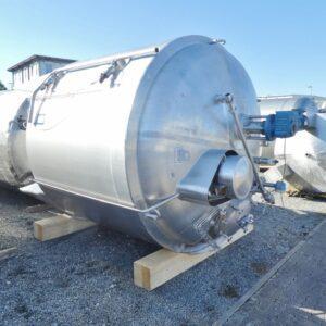 Reaktor 10000 liter i rostfritt 304