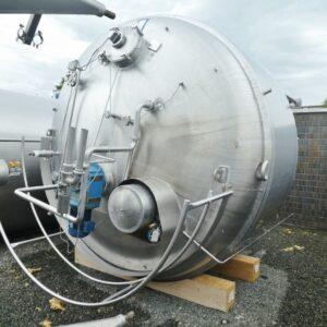 Reaktor 11700 liter i syrafast 316