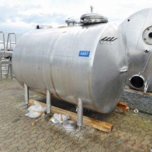 Reaktor 5500 liter i syrafast 316