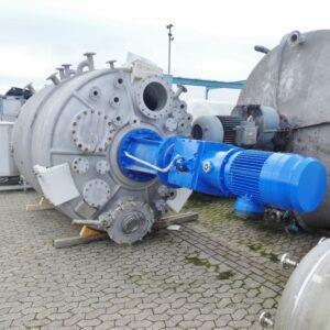 Reaktor 12 450 liter i rostfritt 304