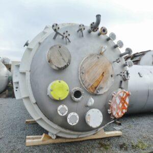 Reaktor 12 500 liter i syrafast 316