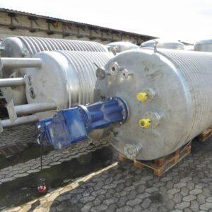 Reaktor 6830 liter i syrafast 316