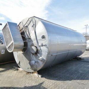 40000 liter i rostfritt 304