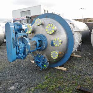 8500 liter i Syrafast 316