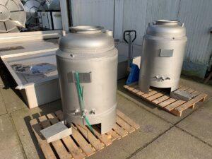 250 liter i Rostfritt 304