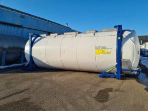 35000 liter i syrafast 316