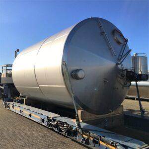 30000 liter tank i Rostfritt 304