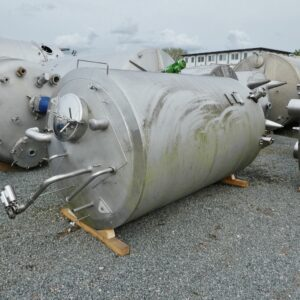 5100 liter tank i Rostfritt 304