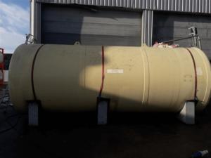 30000 liter tank i Stål (dubbelmantlad)