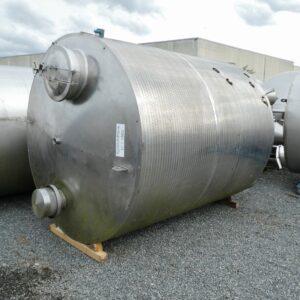 10000 liter tank i Rostfritt 304