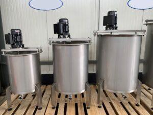 210 liter tank i Syrafast 316
