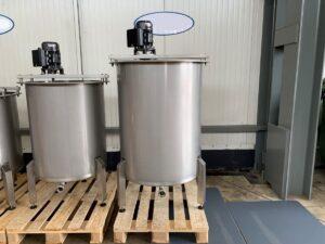 520 liter tank i Syrafast 316