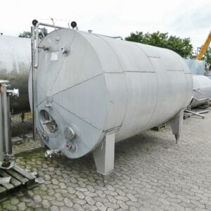 8500 liter tank i Rostfritt 304