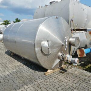 10000 liter tank i Syrafast 316